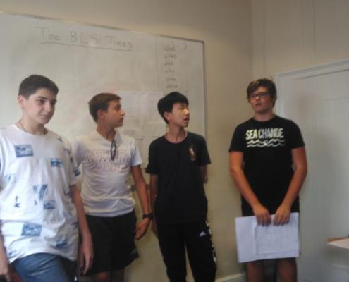 Presentazione del project su Bury St. Edmunds